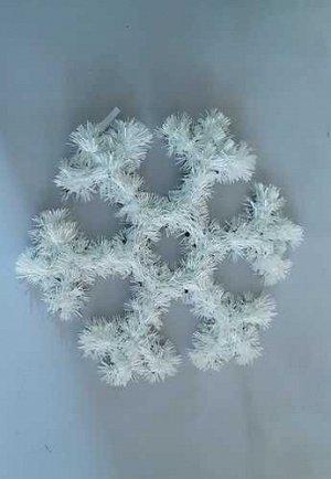 Снежинка декоративная 32см *