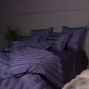 """Комплект постельного белья """"Urban Classic"""" 2сп, цв.лазурит 50х70см, 70х70см, мако-сатин 2244"""