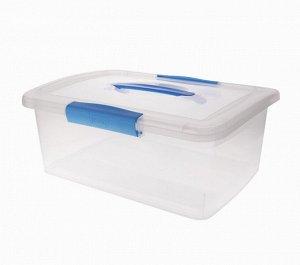"""Ящик для хранения """"Laconic"""" 5л, с ручкой, цв.голубой  BQ2521НБСПР"""