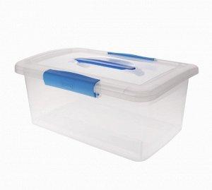 """Ящик для хранения """"Laconic"""" 7л, с ручкой, цв.голубой  BQ2522НБСПР"""