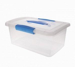 """Ящик для хранения """"Laconic"""" 9л, с ручкой, цв.голубой BQ2523НБСПР"""