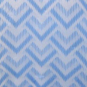 Штора для ванной комнаты Доляна «Чешуя», 180?180 см, EVA, цвет синий