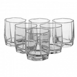 Набор стаканов Hisar / 6 шт. 195 мл