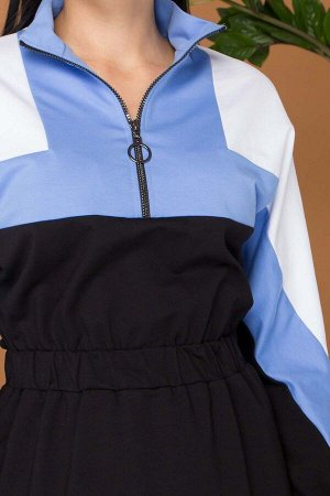 """Платье """"AZ-306"""" (голубой)"""