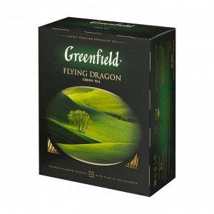 Чай Гринфилд Flying Dragon, 100пак