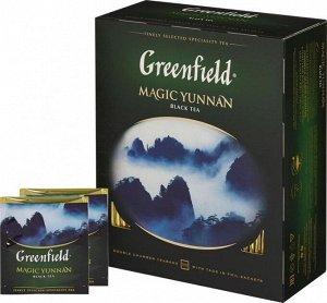 Чай Гринфилд Magic Yunnan, 100пак
