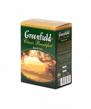Чай Гринфилд Classic Breakfast, 100г