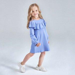 Платье для девочки, сиреневый