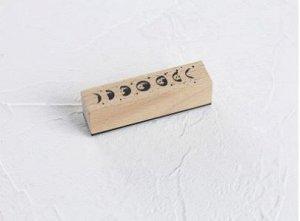 Деревянный прорезиненный штамп 01
