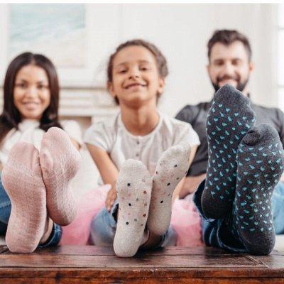 💥Весна! Нижнее белье!Платья!Все скидки в одной закупке!🔥😍  — Носочки теплые!Семейная коллекция — Носки