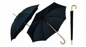 """""""Rain"""" Зонт мужской, трость, черный TU103 С00 ВЭД"""