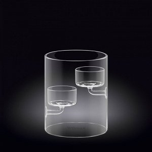 WILMAX Thermo Glass Держатель для свечи 12см WL-888905A