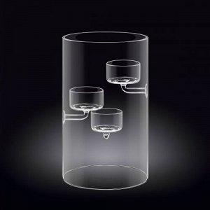 WILMAX Thermo Glass Держатель для свечи 20см WL-888906A