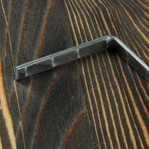Кочерга узбекская с деревянной ручкой, с узором, 50/1см, сталь 3мм