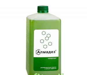 Алмадез® концентрат, дезинфицирующее средство с моющим эффектом, 1 л
