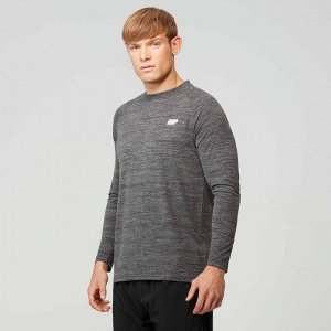 Мужской лонгслив MYPROTEIN Performance Long Sleeve (Driftwood Marl)