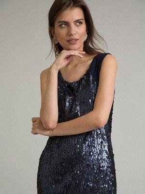 Платье с пайетками PL943/verga