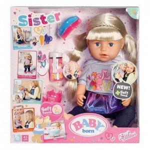 Кукла BABY born Сестричка 2019, 43 см1