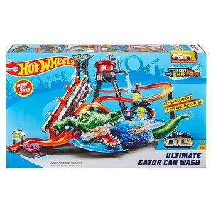 Игровой набор Mattel Hot Wheels Сити Невообразимая автомойка7