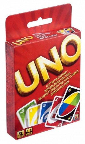 Настольная игра Mattel UNO карточная, классическая222