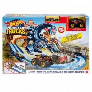 Игровой набор Mattel Hot Wheels Монстр-Трак Гонка со скорпионом15