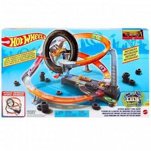 Игровой набор Mattel Hot Wheels Сити Шиномонтажная мастерская11
