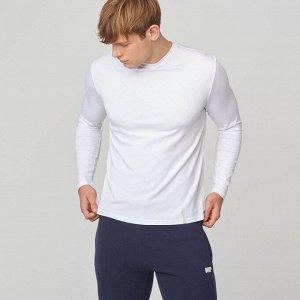 Мужское худи MYPROTEIN  Luxe Classic Long Sleeve Crew (цвет белый)