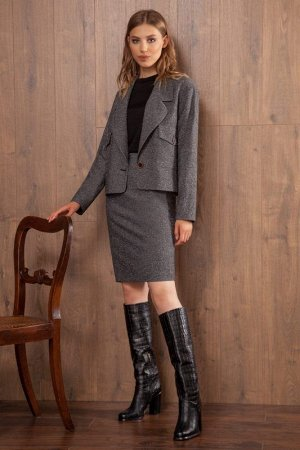 Юбка миди Рост: 170 см. Состав ткани: полиэстер 60%, вискоза 37%, эластан 3% Классическая юбка из костюмной ткани с содержанием вискозы, длиной выше колена, зауженная к низу. Юбка на притачном поясе с