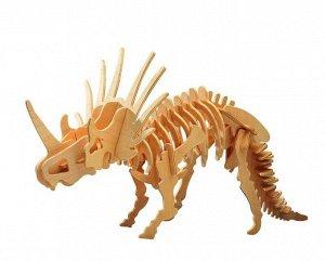 Сборная деревянная модель Чудо-Дерево Динозавры Стриказавр (4 пластины)22