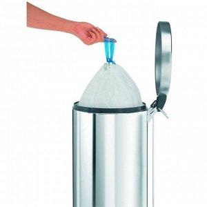 Пакет пластиковый, высокий, объём 20 л, 20 шт.