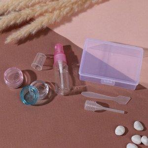Набор для хранения, в футляре, 5 предметов, цвет МИКС