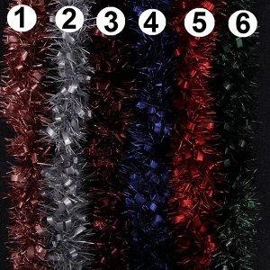 Мишура Мишура придаст праздничной атмосфере,те финальные штрихи, которые делают композицию законченной, придавая ей нарядный и эффектный вид.  Длина 170 см. Диаметр 9 см.  Матовая. Очень красивая!