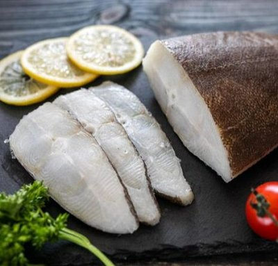Дары моря: Стейки из рыбы🦐Форель 900г 766р! +Треска — Рыба пластами — Мясо и рыба