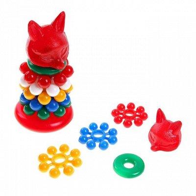 Море игрушек для детей🦊 Бизиборды, игровые наборы, роботы👾   — Пирамидки — Игрушки и игры