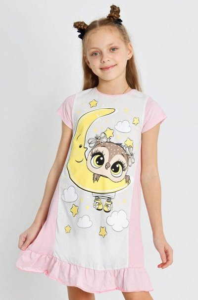 Яркий Трикотаж для всей семьи 57!  — Девочкам. Домашняя одежда. Ночные сорочки — Одежда для дома
