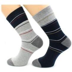 Теплые носочки Hobby Line! Новогодние! Ангора, махра  — Носки мужские махровые внутри — Носки