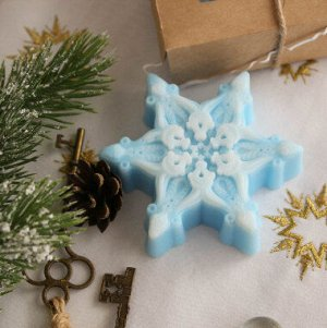 Мыло для рук Снежинка Milotto