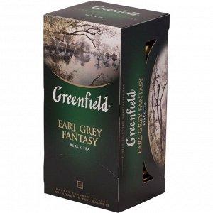 Чай Гринфилд Earl grey fantasy, 25пак