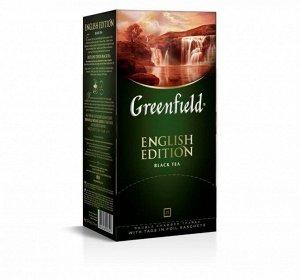 Чай Гринфилд English Edition, 25пак