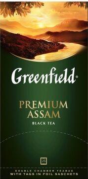 Чай Гринфилд Premium Assam, 25пак
