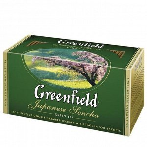 Чай Гринфилд Japanese Sencha, 25пак