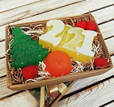 ™Milotto - мыло.Оригинальный подарок к любому празднику!  — Мыло и сувениры на Новый год. — Все для Нового года