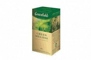 Чай Гринфилд Green Melissa, 25пак
