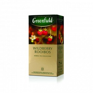 Чай Гринфилд Wildberries Rooibos, 25пак