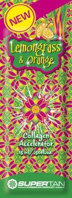 Косметика для загара Super Tan Lemongrass&Orange Коллагеновый ускоритель противодействующий целлюлит
