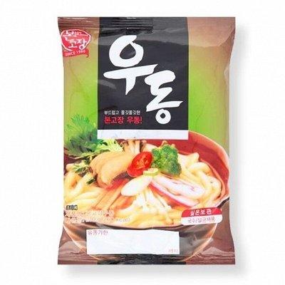 Только Корея, лапша, соусы, снеки. новинки! — Удоны — Быстрое приготовление