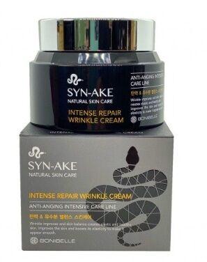 Интенсивный крем против морщин с пептидом змеиного яда BONIBELLA  Syn-ake Intense Repair Wrinkle Cream