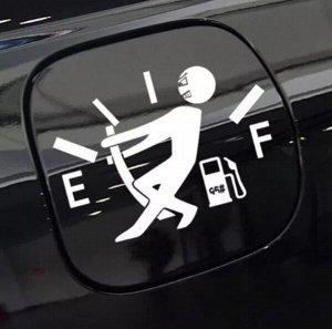 Наклейка на бензобак авто