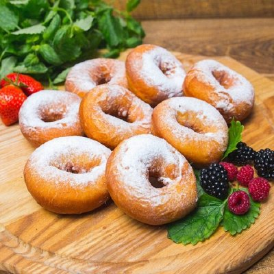 Приморский Вкусный и Полезный Мёд-2020. Быстрая раздача — Пончики и Сырники — Хлеб, тосты, лаваш