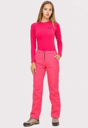 Женские осенние весенние виндстопер большого размера розового цвета 1852-1R